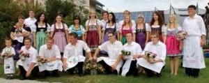 Kerwaburschen- und madla 2012